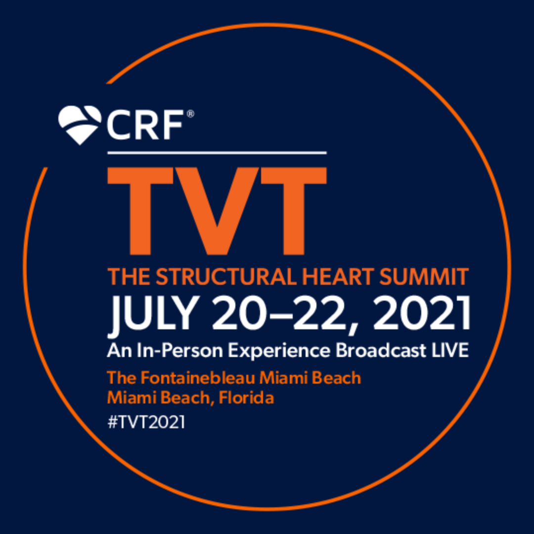 CRF TVT conference from Miami Beach Florida, July 20-22 2021