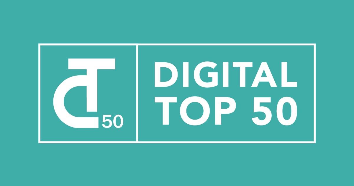 Digital Top 50 Award for Social Impact